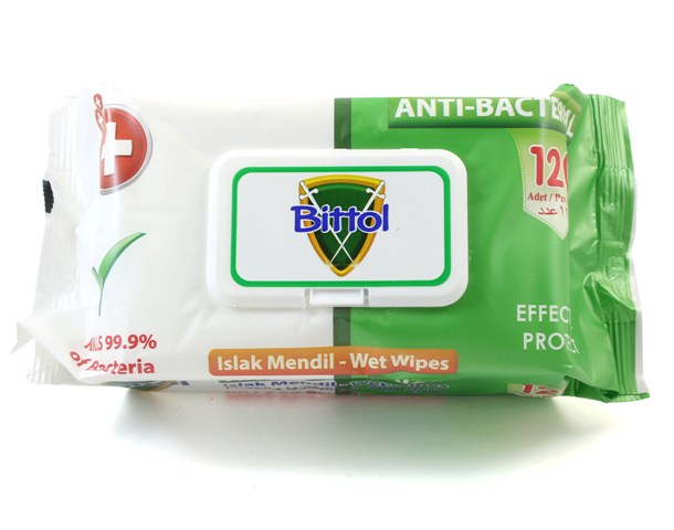 Anti Bacterial Kills 99.9% of Bacteria Wipes 1200 ct