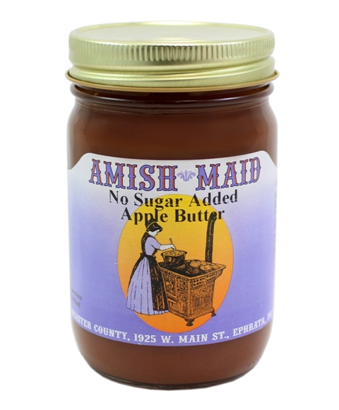Amish Maid Apple Butter No Sugar Added 8 oz