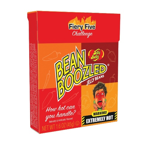 Jelly Belly Fiery Five BeanBoozled Flip Top Box Display Box