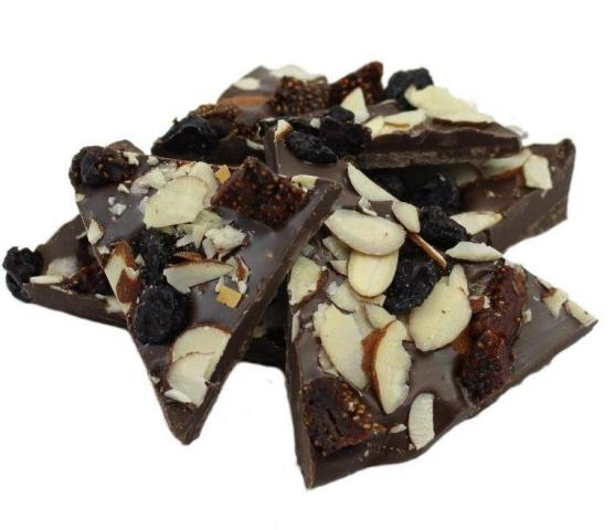 Weaver Chocolates Dark Chocolate Berry Nut Bark
