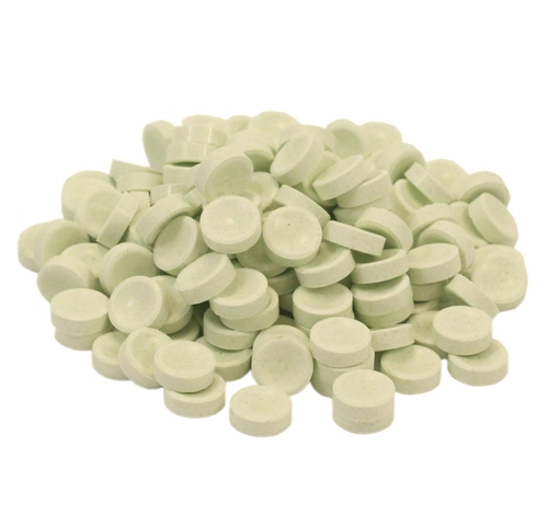 Green Single Color Smarties Unwrapped