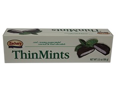 Zachary Dark Chocolate Thin Mints 5.5 oz