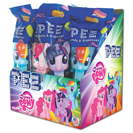 Pez My Little Pony Counter Display 12 count