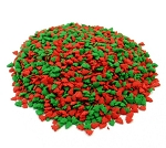 Kerry Ingredients  Christmas Tree Mini Shapes Red and Green