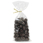 Pure Dark Chocolate Almonds 8 oz Twist Bags