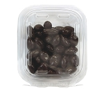 Pure Dark Chocolate Almonds 8 oz Tub