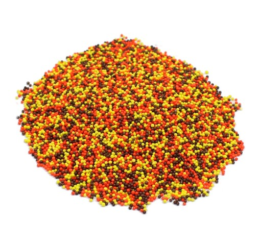 Weaver Nut  Nonpareils Fall Mix (orange, yellow, brown)