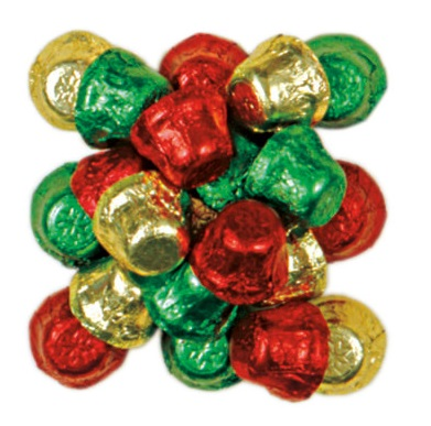 RM Palmer Christmas Bells Milk Compound Chocolate Bulk
