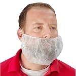 White Polypropylene Beard Nets