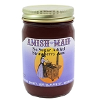 Amish Maid No Sugar Added Strawberry Jam 12 oz