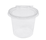 Safe T Fresh Clamshell Container 24 oz (TS4024R)