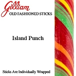 Gilliam Candy Old Fashioned Island Punch Stick