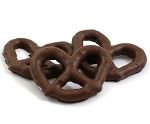 Asher's Milk Chocolate Covered 3 Ring Pretzels