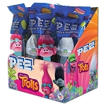 Pez DreamWorks Trolls Counter Display 12 count
