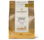 Callebaut Gold Chocolate Couverture CHK-R30GOLD-2B-U75