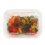 Land Of The Gummies 6 Flavor Gummy Bear 13 oz Tubs