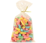 Land Of The Gummies Sour Neon Worms 13.75 oz Twist Bags