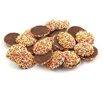 Weaver Chocolates Pure Milk Chocolate Autumn Nonpareils