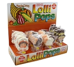 Mom 'n Pops Thanksgiving Chocolate Flavored Pops Counter Display