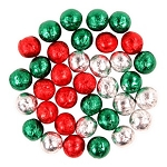 RM Palmer Christmas Balls Milk Compound Chocolate Bulk