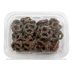 Christmas Chocolately Pretzels  8 oz Tubs