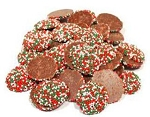 Weaver Chocolates Christmas Pure Milk Chocolate Nonpareils