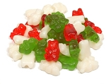 Land Of The Gummies Christmas Red White Green Gummy Bears