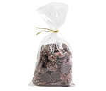 Chocolate Christmas Nonparelis 10 oz Twist Bags