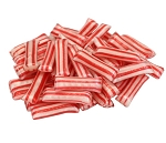 Cavalier Red Striped Christmas Mint Straws