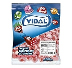Vidal Gummi Triple Hearts Sugared Assorted Colors