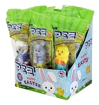 Pez  Easter Assortment Counter Display 12 ct