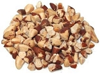 Raw Broken Brazil Nut