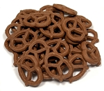 Mini Chocolate Graham Pretzels