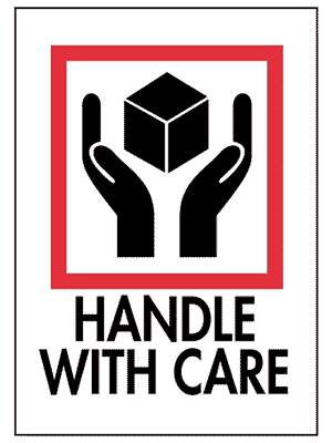 Handle With Care Labels 3