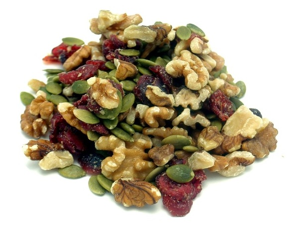 Weaver Nut Walnut and Cranberry Omega Health Mix