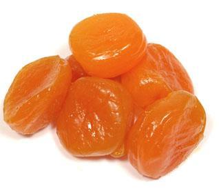Glazed Large Apricots