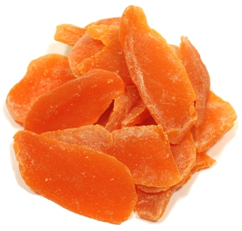 Dried Mango Slices with Sulphur