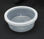 Round Container 8 oz Deli Clear
