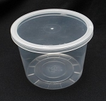 Round Container 16 oz Deli Clear