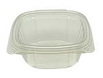 Genpak Container Clear Hinged 6 oz