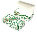 Holly Candy Boxes 1/2 LB 5.5