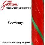 Gilliam Candy Old Fashioned Strawberry Stick