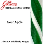 Gilliam Candy Old Fashioned Sour Apple Stick