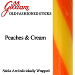 Gilliam Candy Old Fashioned Peaches & Cream Stick
