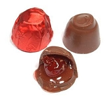 Asher's Milk Chocolate Cherry Cordials Red Foil Wrapped