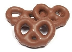 Asher's Pure Milk Chocolate Covered Mini Pretzels