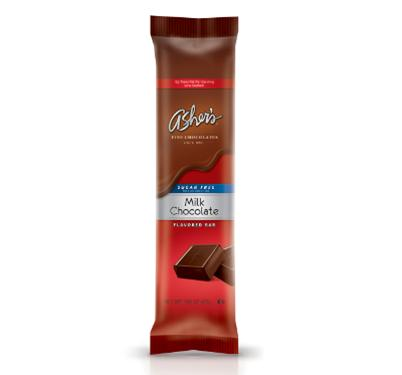 Asher's Sugar Free Solid Milk Chocolate Bars