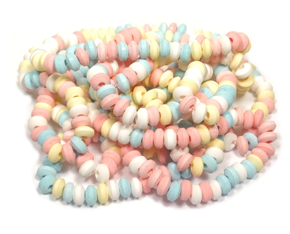 Smarties Candy Necklaces Unwrapped