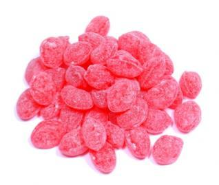 Claeys Sugar Sanded Natural Raspberry Drops