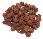 Linette Milk Chocolate Small Peanut Butter Cups Unwrapped